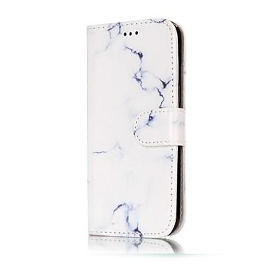 Kılıf Na Samsung Galaxy A5(2017) A3(2017) Portfel Etui na karty Z podpórką Flip Wzór Magnetyczne Futerał Marmur Twarde Sztuczna skóra na