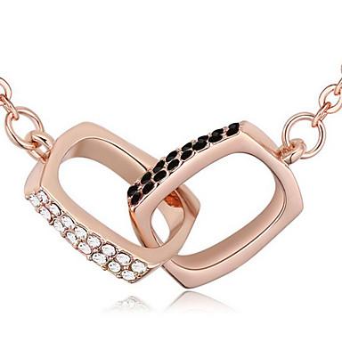 Damskie Naszyjniki z wisiorkami Kryształ Biżuteria Unikalny Osobiste Biżuteria Na Ślub