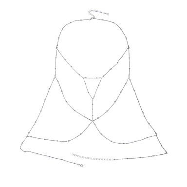 Naisten Kehokorut Body Ketju / vatsa ketju Nature Muoti Gem Metalliseos Geometric Shape Korut Käyttötarkoitus Erikoistilaisuus