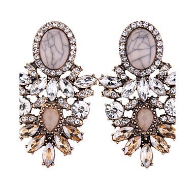 Damskie Kolczyki wiszące Biżuteria Modny Bohemia Style euroamerykańskiej Syntetyczne kamienie szlachetne Biżuteria Biżuteria Na Ślub