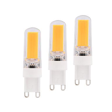 3W E14 G9 G4 LED-maissilamput T 1 ledit COB Himmennettävissä Lämmin valkoinen Valkoinen 280lm 2800-3200  6000-6500K AC220V