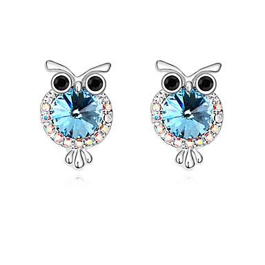 Damskie Kolczyki na sztyft Kryształ Spersonalizowane Zwierzęta euroamerykańskiej Biżuteria Na Ślub Impreza Urodziny