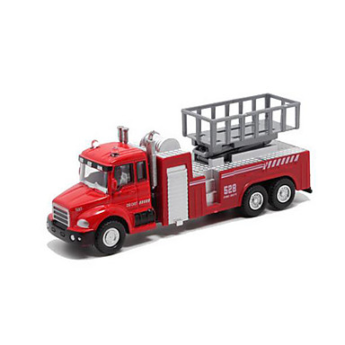 Jucării pentru mașini Vehicul Pompieri Jucarii Muzică și lumină Οχήματα οπίσθιας έλξης Mașini de Pompiere Aliaj Metalic Plastic
