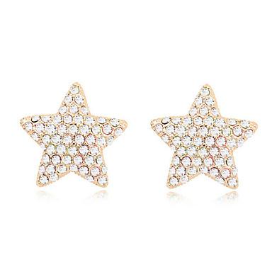 Pentru femei Cercei Stud Cristal Personalizat Clasic Euramerican stil minimalist Bijuterii Pentru Nuntă Petrecere Zi de Naștere
