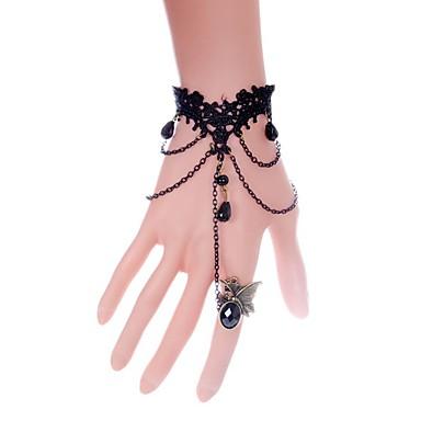 Γυναικεία Βραχιόλια με Αλυσίδα & Κούμπωμα Μοντέρνα Δαντέλα Line Shape Κοσμήματα Για Γάμου Πάρτι Ειδική Περίσταση Γενέθλια