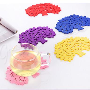 Coasters Muovi,14*10*1 viini Lisätarvikkeet
