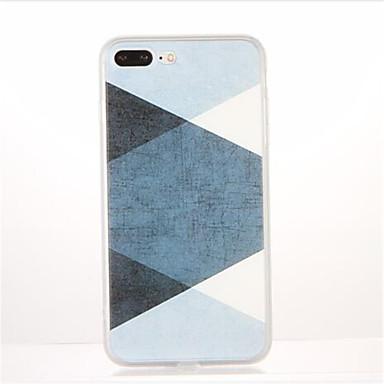 Για Με σχέδια tok Πίσω Κάλυμμα tok Γεωμετρικά σχήματα Μαλακή TPU για AppleiPhone 7 Plus iPhone 7 iPhone 6s Plus iPhone 6 Plus iPhone 6s