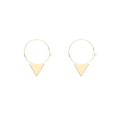 Damskie Kolczyki zwisają Biżuteria Spersonalizowane Geometrické Unikalny Wiszący Wisiorek euroamerykańskiej Modny Miedź Geometric Shape