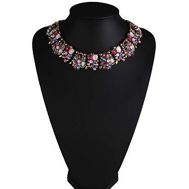 Γυναικεία Κολιέ Τσόκερ Κοσμήματα Κοσμήματα Συνθετικοί πολύτιμοι λίθοι Κράμα Μοντέρνα Euramerican Κοσμήματα Για Πάρτι