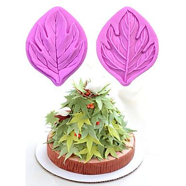 2 Piese coacere Mold tort pentru ciocolată Cauciuc De Silicon Nelipicios