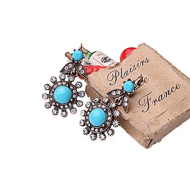 Κρίκοι Κρυστάλλινο Μοντέρνα Εξατομικευόμενο Euramerican Μπλε Κοσμήματα Για Γάμου Πάρτι Γενέθλια 1 ζευγάρι