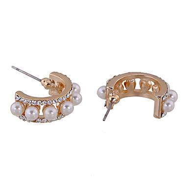 Σκουλαρίκια Σετ Κρυστάλλινο Μοναδικό Euramerican Εξατομικευόμενο Κράμα Ασημί Κοσμήματα Για Γάμου Πάρτι Γενέθλια 1 ζευγάρι