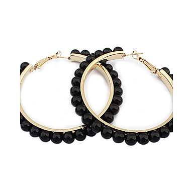 Kreolen Ohrring Ohrringe Set Imitierte Perlen Einzigartiges Design Künstliche Perle Modisch bezaubernd individualisiert Euramerican