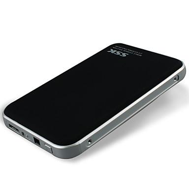 Ssk he-t300 siyah kartal ii 2.5 inç usb3.0 mobil sabit disk kutusu sata arayüz desteği ssd desteği dizüstü bilgisayar sabit disk siyah