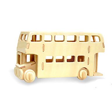 3D-puzzels Bus Plezier Hout Klassiek
