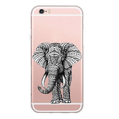 tok Για Apple iPhone X iPhone 8 Εξαιρετικά λεπτή Με σχέδια Πίσω Κάλυμμα Ελέφαντας Μαλακή TPU για iPhone X iPhone 8 Plus iPhone 8 iPhone 7
