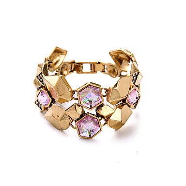 Γυναικεία Βραχιόλια με Αλυσίδα & Κούμπωμα Κοσμήματα Φιλία Μοντέρνα Κράμα Χρυσό Κοσμήματα Για Γενέθλια 1pc