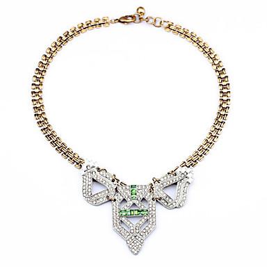 Kadın's Tellerinin Kolye Geometric Shape Eşsiz Tasarım Moda Beyaz Mücevher Için Doğumgünü Günlük 1pc