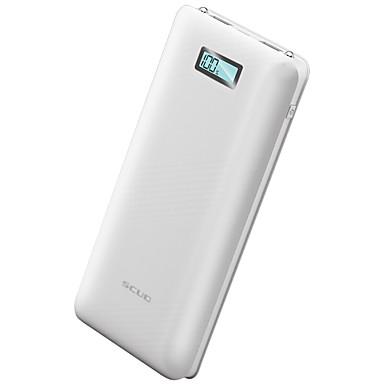 20000mAh Bank-externer Batterie 5V 1.0A 2.0AA Akku-Ladegerät Taschenlampe mit Kabel Multi – Ausgabe Automatisch bereinigte Leistung LCD