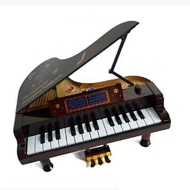 Muziekdoos Vierkant Ontspannende hobby's Hout Niet gespecificeerd