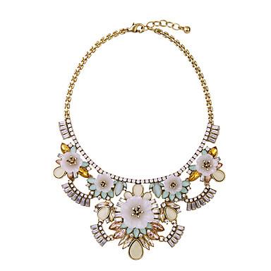 Kadın's Tellerinin Kolye Flower Shape Eşsiz Tasarım Euramerican Beyaz Mücevher Için Günlük Yılbaşı Hediyeleri 1pc