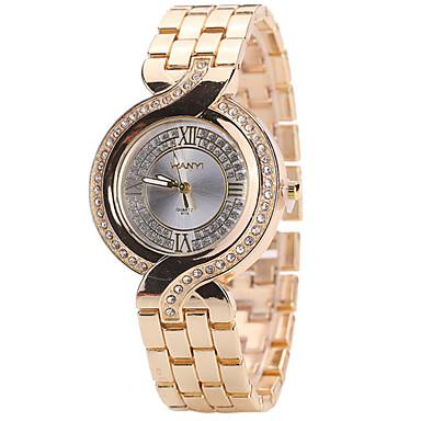 Pentru femei Ceas La Modă Ceas Casual Quartz Aliaj Bandă Creative Casual Cool Auriu