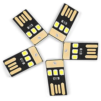 Недорогие USB-фонари-YWXLIGHT® 5 ед. USB огни LED Night Light Декоративное освещение USB Маленький размер