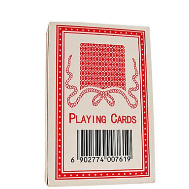 لعبة البوكر ألعاب مربع بلاستيك قطع للجنسين هدية
