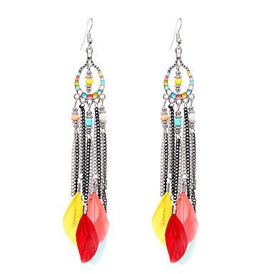 Dames Druppel oorbellen Sieraden Vintage leuke Style Euramerican Stretch Luxe Sieraden Elegant Duurzaam Veer Wings Sieraden Voor Bruiloft