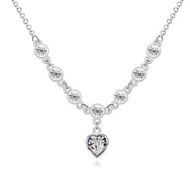 Damskie Naszyjniki z wisiorkami Biżuteria Biżuteria Kamień szlachetny Stop Unikalny Słodkie Style Biżuteria Na Impreza Codzienny Casual
