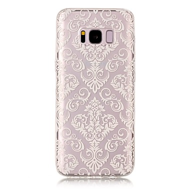 Maska Pentru Samsung Galaxy S8 Plus S8 IMD Transparent Model Carcasă Spate dantelă de imprimare Moale TPU pentru S8 S8 Plus S7 edge S7 S6