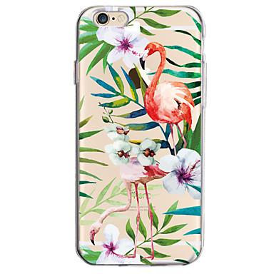 Für Apfel iphone 7 7 plus 6s 6 plus Fallabdeckung Blumenmuster gemaltes hohes penetration tpu materielles weiches Falltelefonkasten