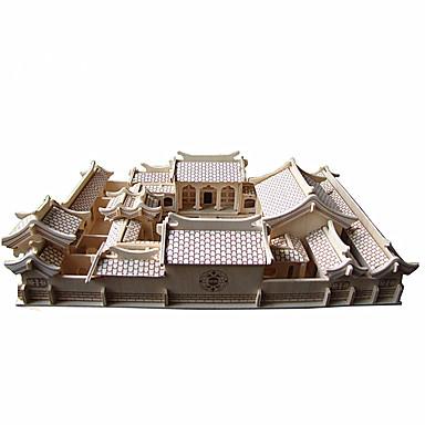 3D - Puzzle Berühmte Gebäude Chinesische Architektur Spaß Holz Klassisch