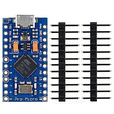 Open-smart atmega32u4 tablă de dezvoltare pro micro pentru arduino