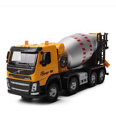 Spielzeug-Autos Spielzeuge Baustellenfahrzeuge Baggelader Müllverdichter Aushubmaschine Spielzeuge Simulation Quadratisch Aushebemaschinen