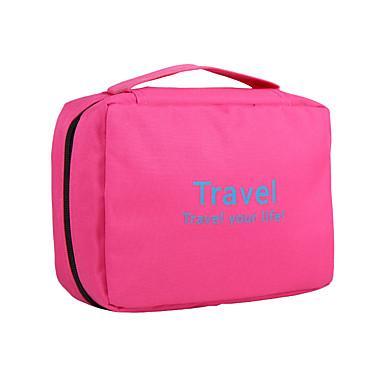 حقيبة مستحضرات التجميل حقيبة أدوات تجميل منظم أغراض السفر حقيبة أدوات تجميل للسفر المحمول قابلة للطى سعة كبيرة تخزين السفر إلى ملابس