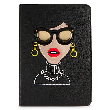 Maska Pentru Apple iPad Mini 4 iPad Mini 3/2/1 Cu Stand Întoarce Model Carcasă Telefon Femeie Sexy Greu PU piele pentru iPad Mini 4 iPad