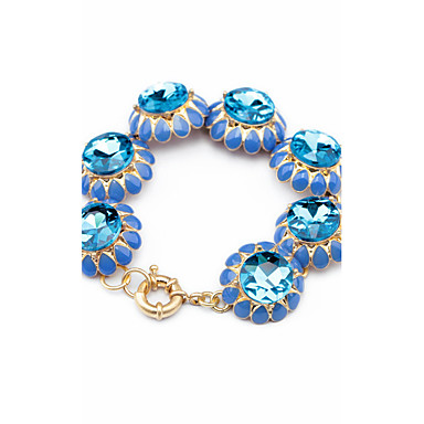 Kadın's Strand Bilezikler Mücevher Arkadaşlık Moda alaşım Flower Shape Mücevher Uyumluluk Parti Doğumgünü