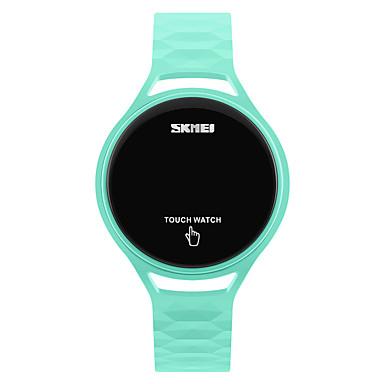 levne Pánské-SKMEI Sportovní hodinky Náramkové hodinky Digitální hodinky japonština Digitální Silikon Černá / Modrá / Červená 30 m Voděodolné Cool Digitální dámy Módní - Tmavomodrá Žlutá Červená Dva roky