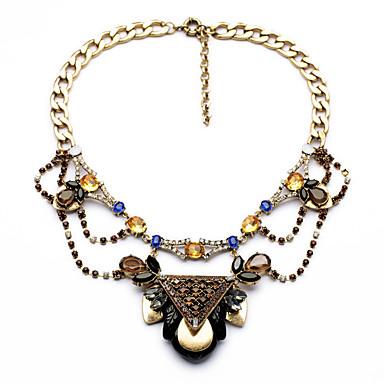 Γυναικεία Κολιέ με Αλυσίδα Κρυστάλλινο Μοναδικό Εξατομικευόμενο Euramerican Κοσμήματα Για Γάμου Πάρτι