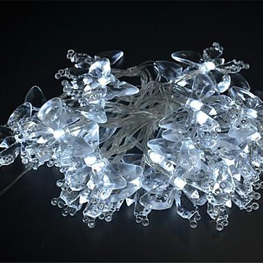 4m Fâșii de Iluminat 40 LED-uri Alb Multicolor Purpuriu Galben Albastru <5V