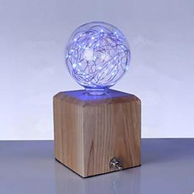 2 W 150 lm E27 Ampoules Globe LED G95 33 Perles LED LED Haute Puissance Bleu 85-265 V / 1 pièce