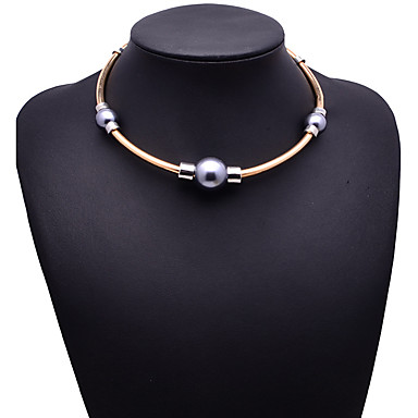 Γυναικεία Κολιέ Τσόκερ Κοσμήματα Κοσμήματα Πετράδι Κράμα Μοντέρνα Βοημία Style Euramerican Χρυσό Κοσμήματα Για Πάρτι Ειδική Περίσταση 1pc