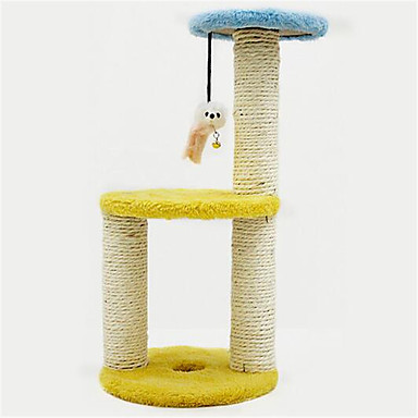 Kattenspeeltje Huisdierspeeltjes Interactief Krabmat Sisal
