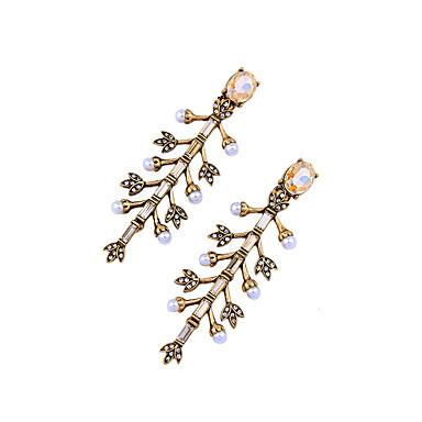 Kolczyki koła Kryształ Godny podziwu Osobiste Słodkie Style euroamerykańskiej Gold Biżuteria Na Ślub Impreza Urodziny 1 para