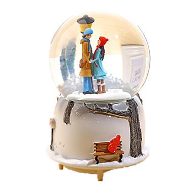 Spieluhr Spielzeuge Sphäre Harz Glas Stücke Unisex Geschenk