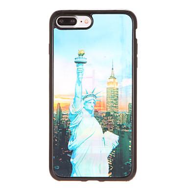 Varten kotelot kuoret Kuvio Takakuori Etui Kaupunkinäkymä Pehmeä TPU varten AppleiPhone 7 Plus iPhone 7 iPhone 6s Plus iPhone 6 Plus