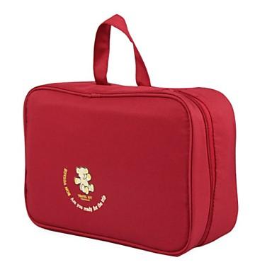 منظم أغراض السفر حقيبة أدوات تجميل للسفر حقيبة مستحضرات التجميل حقيبة معلقة لأدوات التجميل حقيبة أدوات تجميل المحمول تخزين السفر متعددة