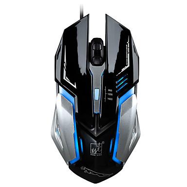 M556 Mit Kabel Gaming Mouse DPI Adjustable Hinterleuchtet 800/1200/1600