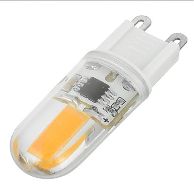 G9 LED Doppel-Pin Leuchten T 1 LEDs COB Warmes Weiß 200-300lm 3000/6500K AC 220-240V